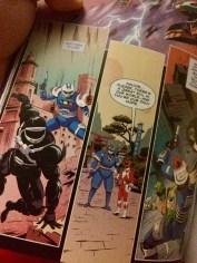 Phantom Ranger, Blue Senturian, and Ninjor!