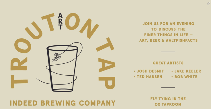 The details - graphic courtesy of Trout on Tap
