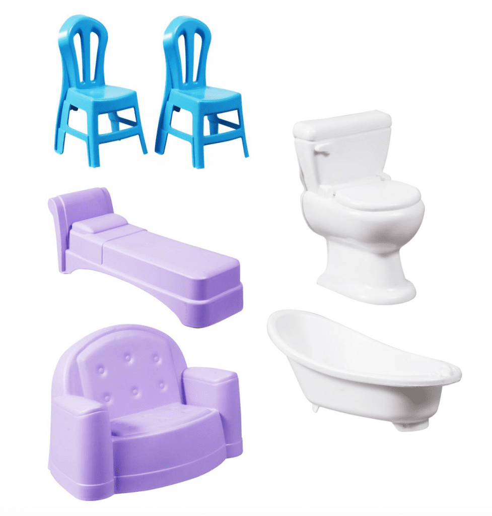 buy doll furniture for 1 at dollar tree