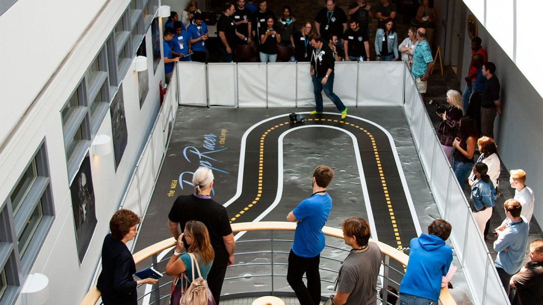 KBR revs up with AWS, NASA for fully autonomous vehicle race