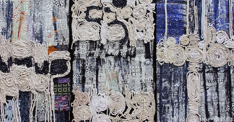 Recreating with thread: 5 artists using found materials