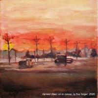 """Harvest Dawn"" by Eva Yarger"