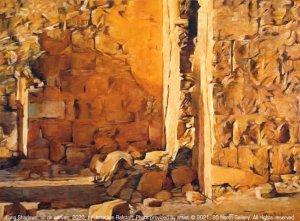 """""""Long Shadows"""" painting"""