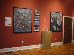 """""""The Alchemist's Dream"""" exhibit installation view"""