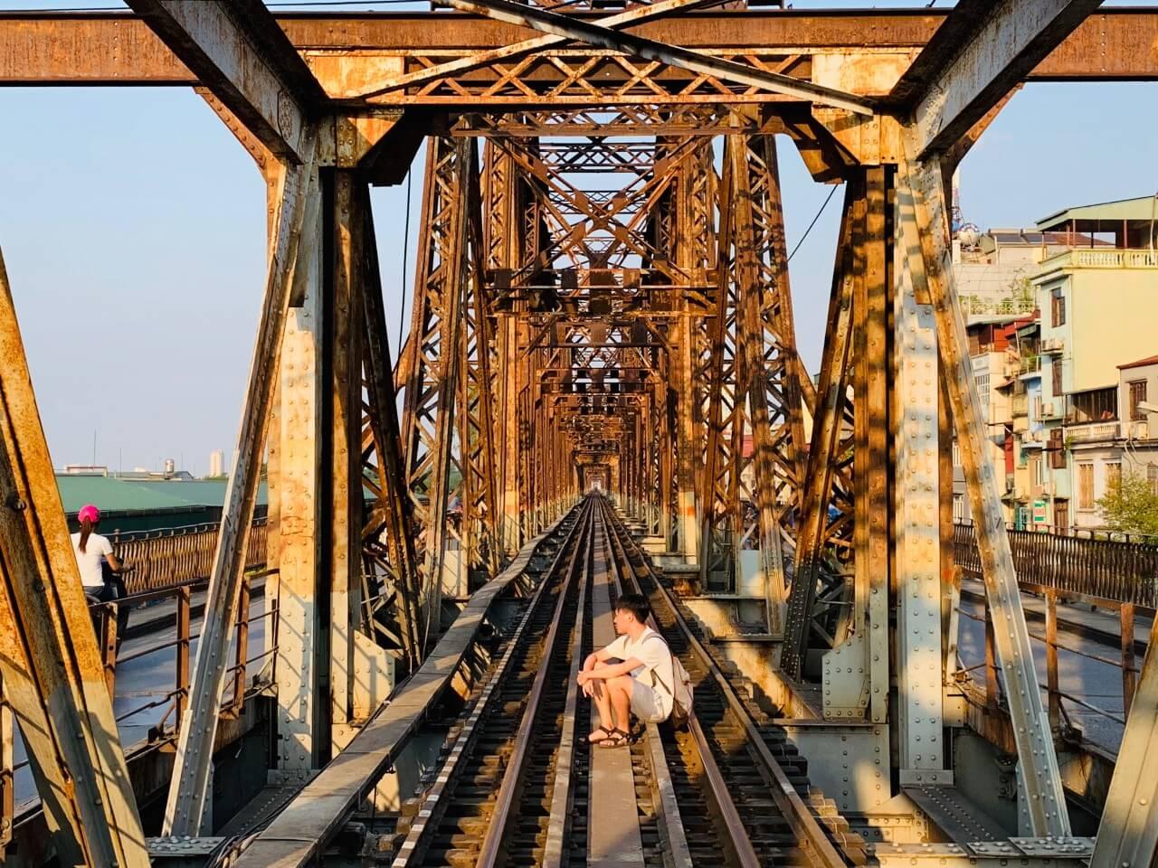 河內景點推薦 Long Bien Railway