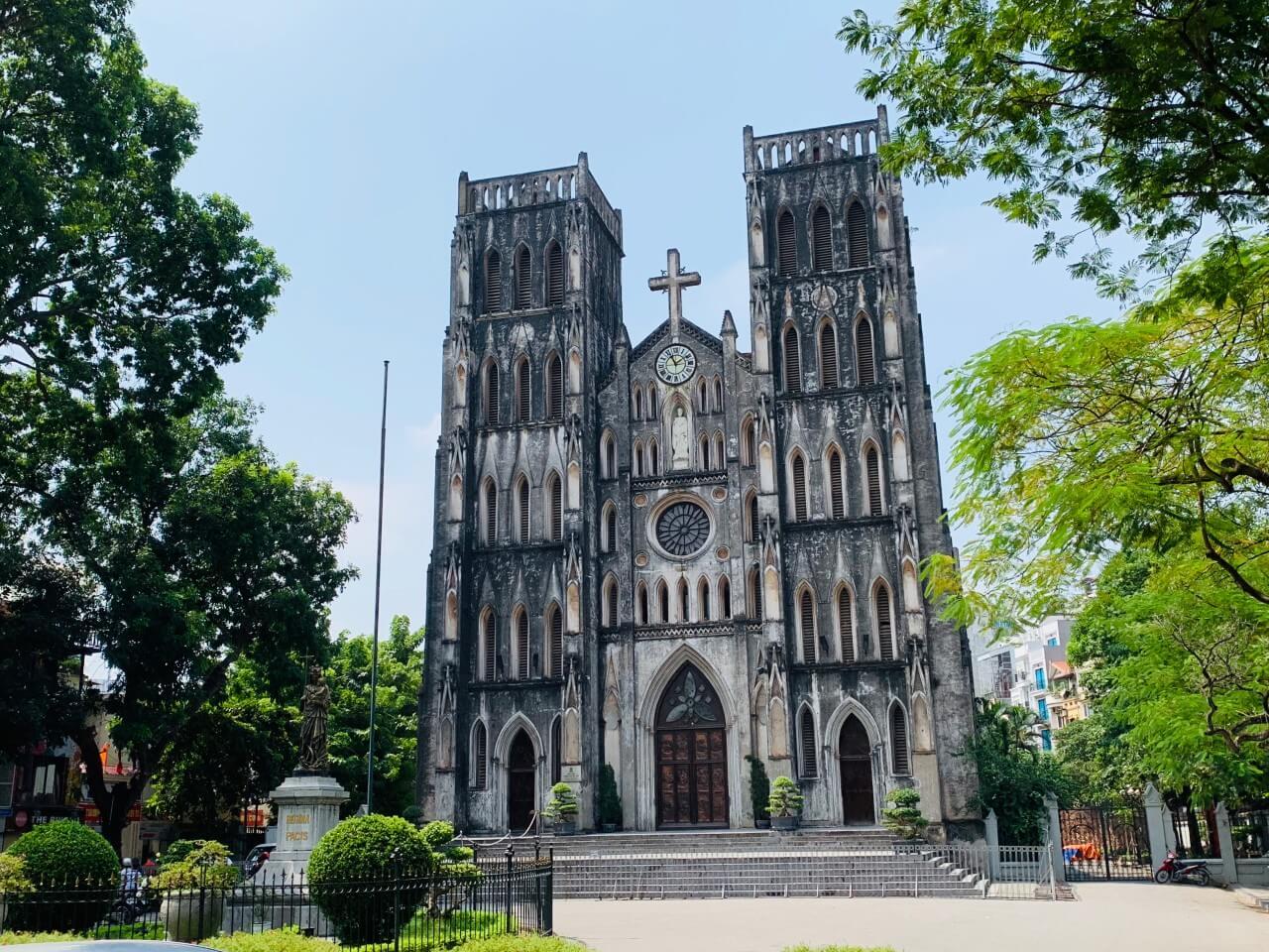 河內景點推薦 St Joseph's Cathedral