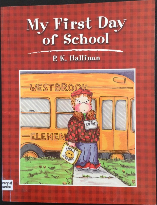 We read this book together on the second day of school, and reflected on our first day.