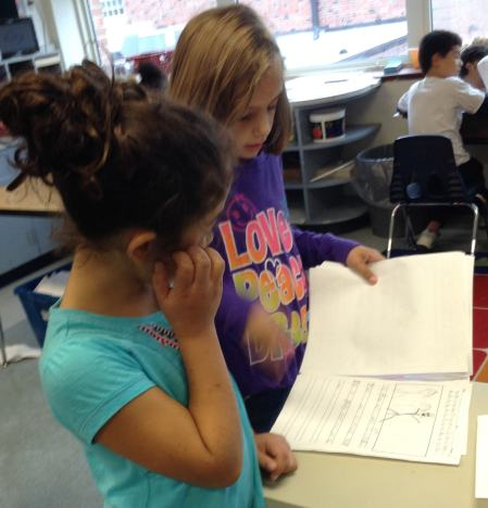 Amber shared her non-fiction writing with Solis.
