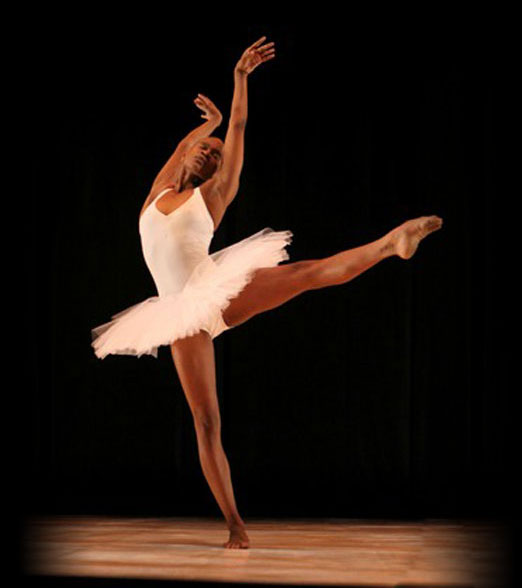 Dancer from Orchesis Dance Company