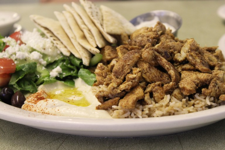 An image of Chicken Shawarma from Greek Corner in Bossier City