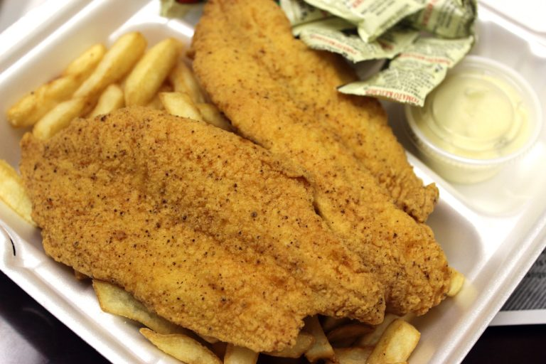 A photo of fried fish fillets from I Fry