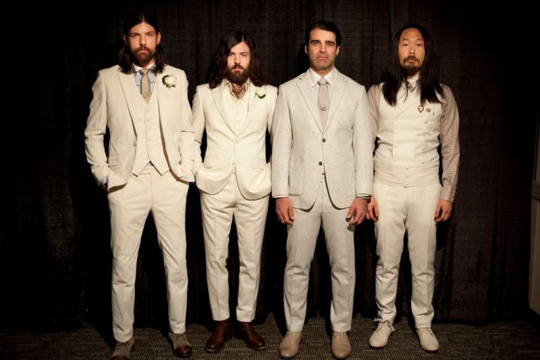 A photo of the Avett Brothers
