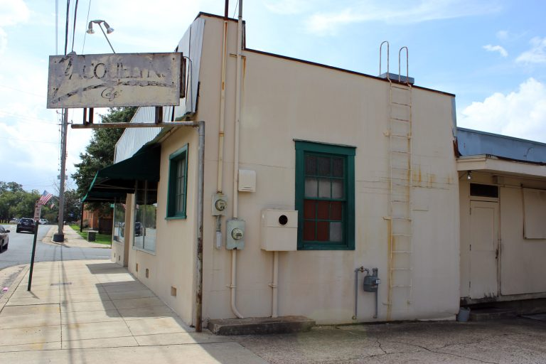 A photo of the exterior of Jacquelyn's Cafe in Shreveport
