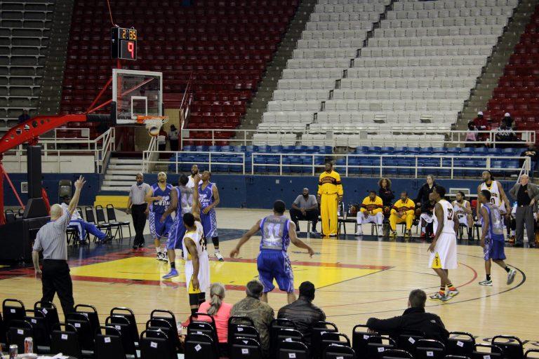 A photo of the Shreveport-Bossier Mavericks