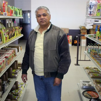 Mike Patel of Spice and All Mediterranean Groceries in Shreveport