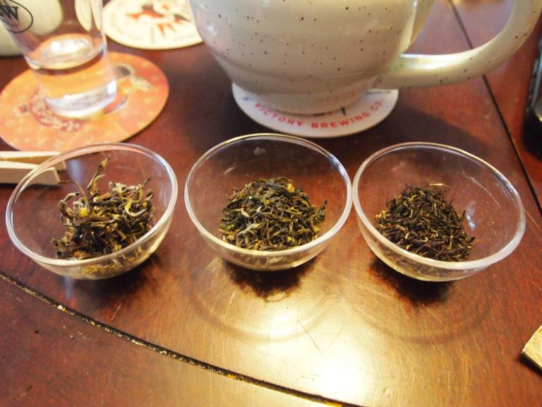 Three different teas features in the Tea Series