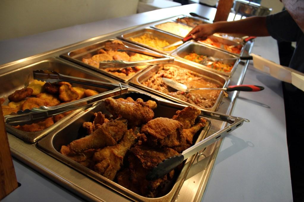 A photo of J'Shanae's Magnolia Tea buffet