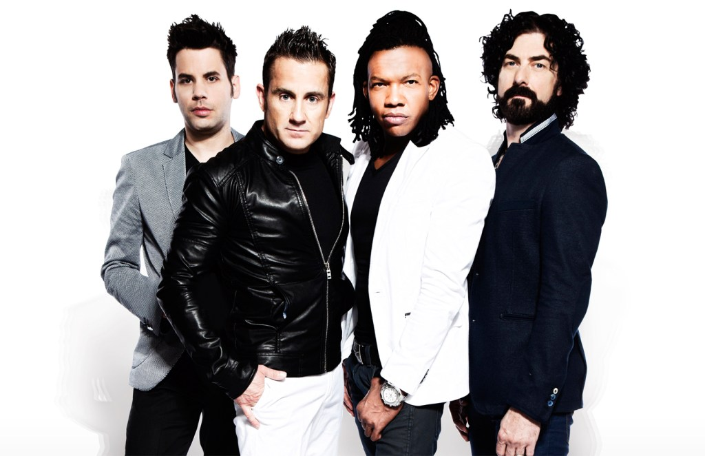 A promotional photo of the band Newsboys