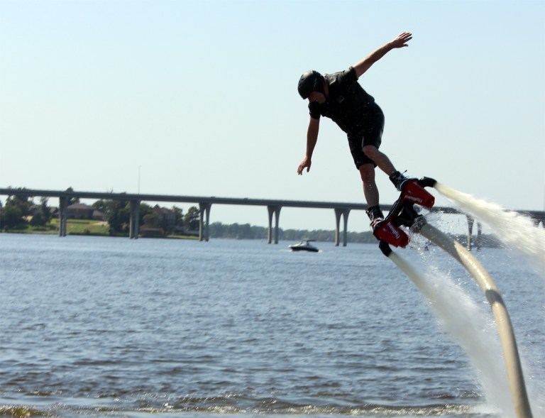 A photo of Ark-La-Tex Flyboard