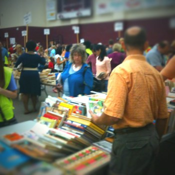 A photo from the Centenary Book Bazaar