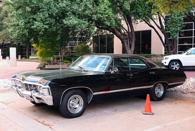 A photo of a 1967 Impala