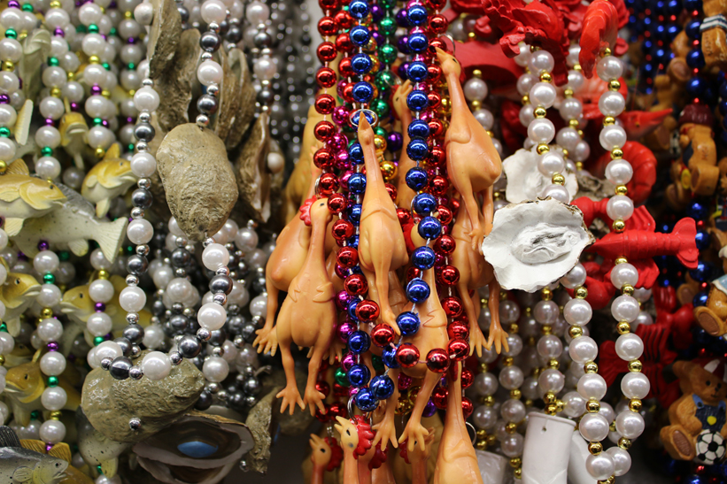 A photo of beads at Tubbs hardware
