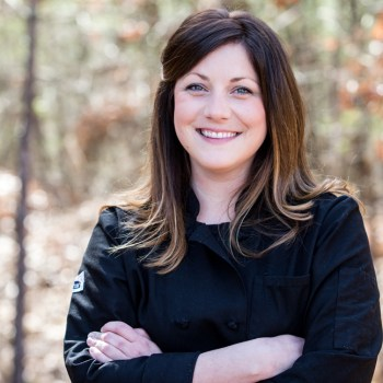 A photo of Chef Holly Schrieber