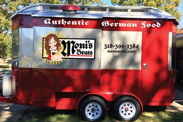 A photo of the Moni's Brats food truck