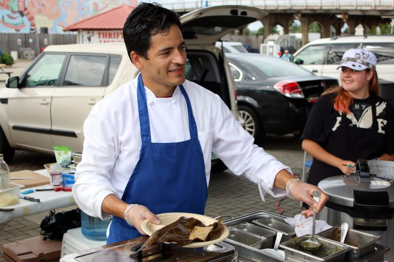 A photo of Chef Gabriel Balderas