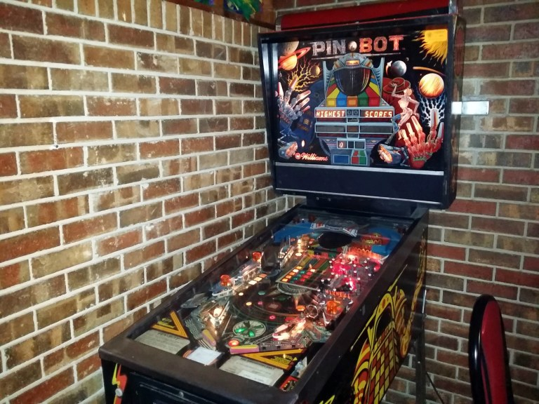 A photo of a pinball machine