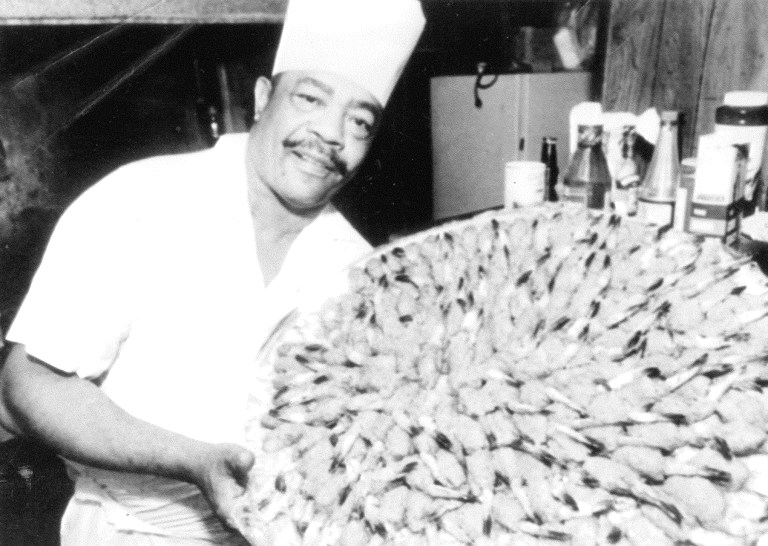 A photo of Chef Eddie Hughes