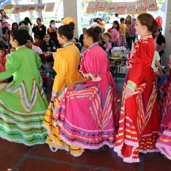 A photo of a Dia de los Muertos celebration in Shreveport