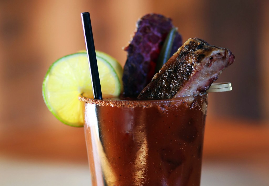 A photo of a bloody mary