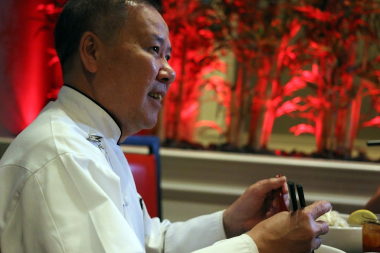 A photo of Chef Frederick Ngo
