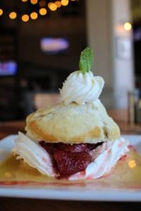 A photo of strawberry shortcake