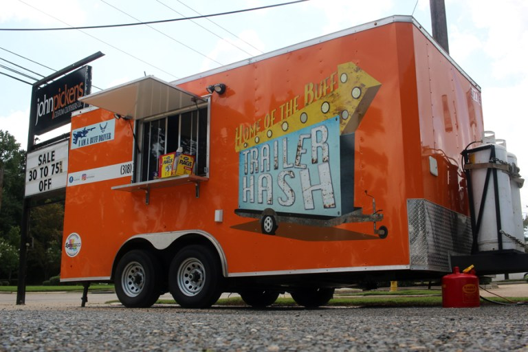 A photo of the Trailer Hash food truck