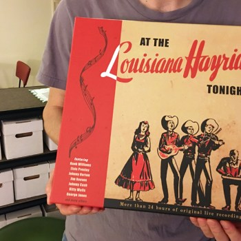 A photo of the Louisiana Hayride Tonight boxed set