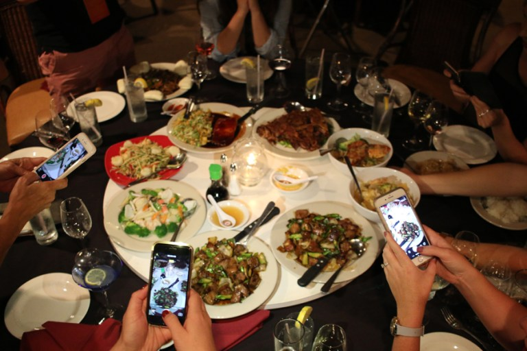 A photo of Lucky Palace's Lazy Susan table