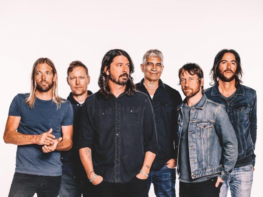 A photo of Foo Fighters