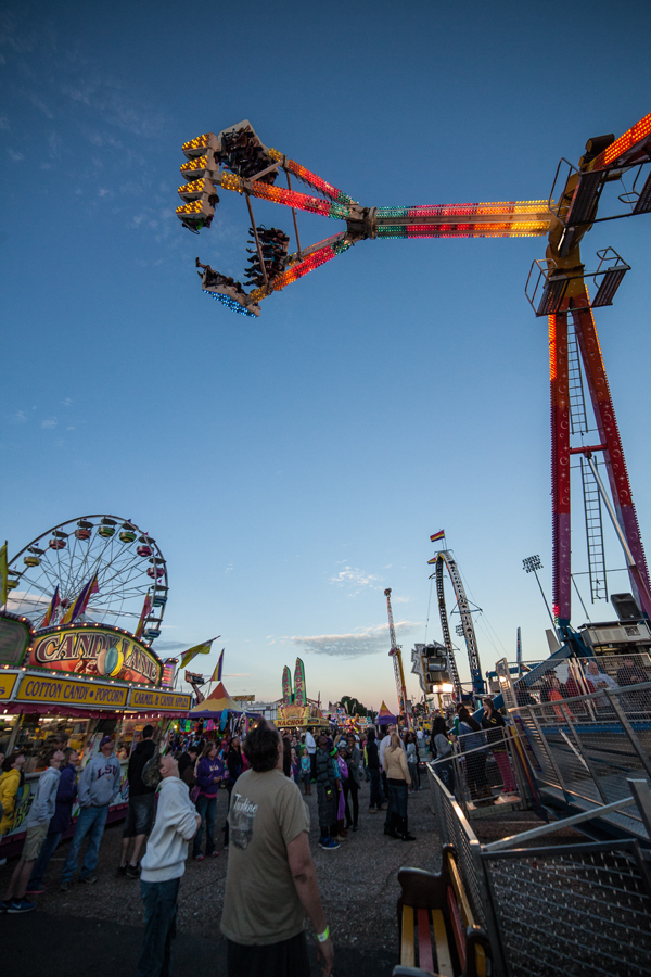 A photo of the State Fair