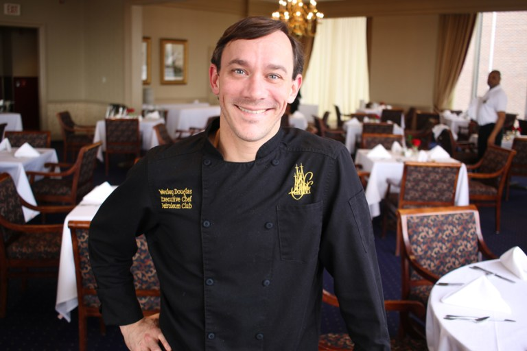 A photo of Chef Wesley Douglas