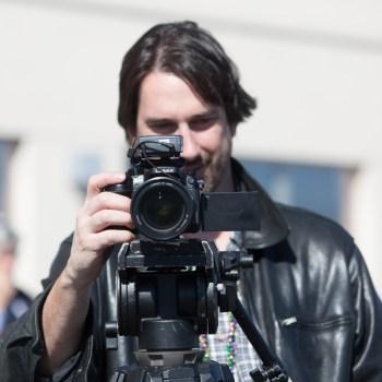 A photo of a man taking a photo