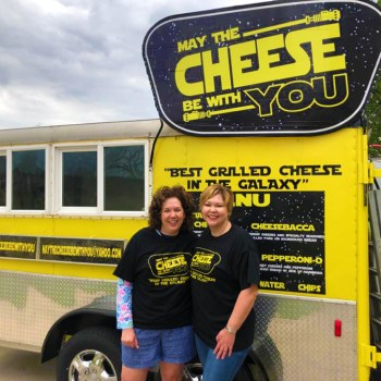 A photo of the May the Cheese be With You food truck