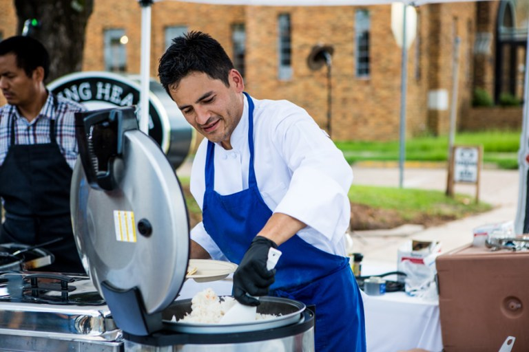 A photo of Chef Gabriel Balderas
