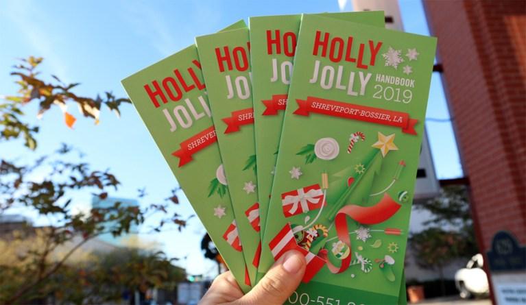 A photo of the Holly Jolly Handbook