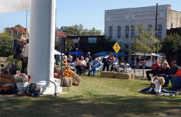 A photo of downtown Homer, Louisiana