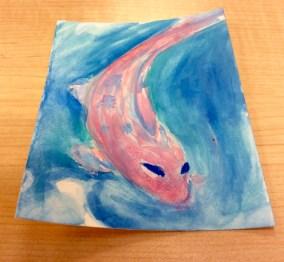 watercoloring