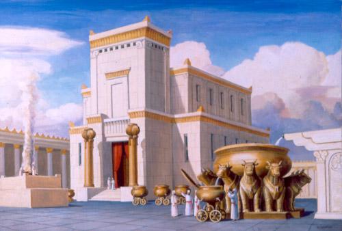 תוצאת תמונה עבור בית המקדש הראשון