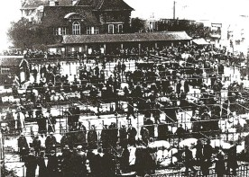 Kingston Cattle Market, 1945 Kingston Museum and Heritage Service