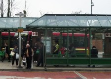 Cromwell Road (A1 bus stop detail)